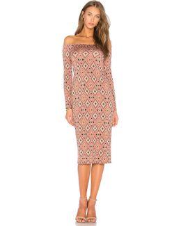 Long Sleeve Jagger Dress