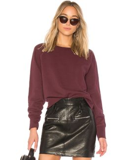 Cropped Classic Pullover