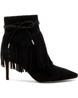 'marion' Fringe Pointy Toe Bootie