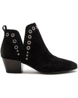 Rubin Leather Slip-on Ankle Boots