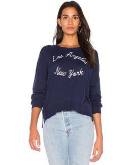 La Ny Cashmere Sweater