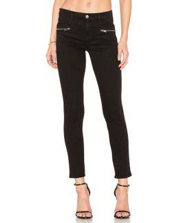 The Zip Front Ankle Skinny