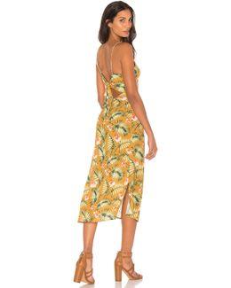 Palm Slip Dress