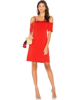 Open Shoulder Tee Dress