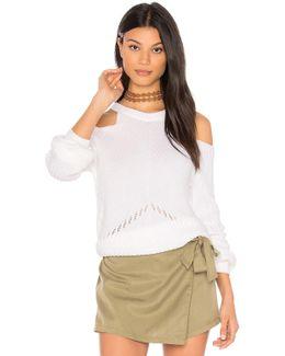Belle Cold Shoulder Sweater