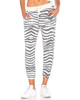 Zebra Sweatpant
