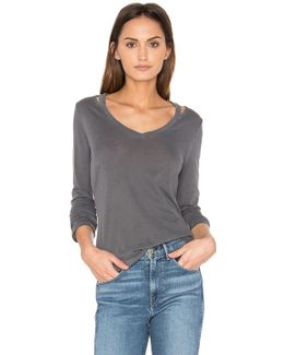 Vintage Whisper Long Sleeve Top