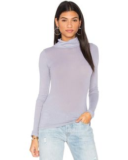 Rib Turtleneck Tee