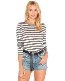 Painterly Stripe Top