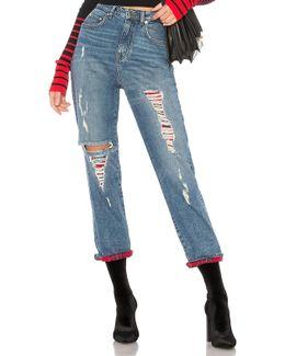 Tommy X Gigi Destroyed Jean
