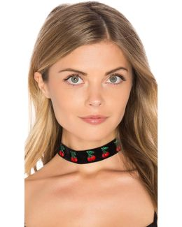 Cherry Wine Choker