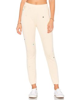 Starlet Embroidery Sweatpants