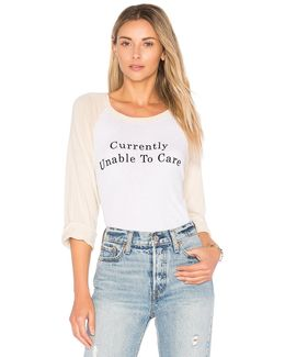 Unable To Care Tee