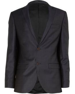 Navy Slim Suit Jacket