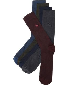 Red Stag Icon Socks Multipack