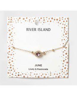 Purple Gem June Birthstone Bracelet