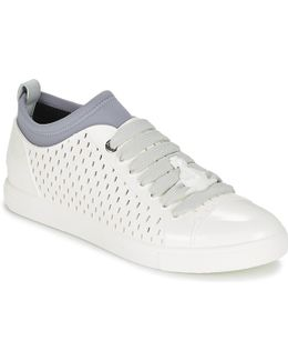 Orb Enamelled Snker Shoes (trainers)