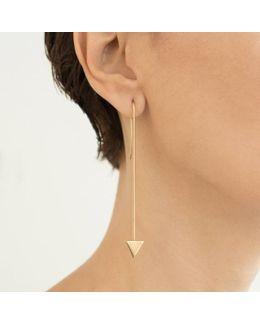Long Origami Earrings