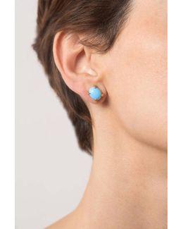 Sira Turquoise Stud Earrings
