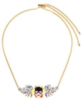 """""""batgirl"""" Small Wings Necklace"""