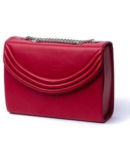 Mezzo Lipstick Red Medium Cross Body Bag