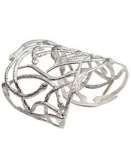 Snakes Silver Cuff