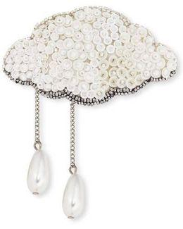 Silver Lining Brooch