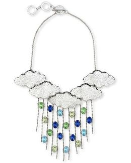 Silver Lining 5 Clouds Necklace