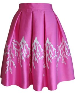 Pink Coral Full Skirt
