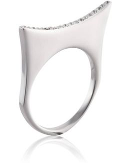 Greta 07 Silver Ring