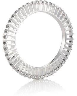 Ella 10 Silver And Crystal Bangle