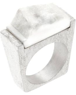 Snow Silver Ring