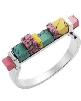 Back To School Marble Hinge Bracelet