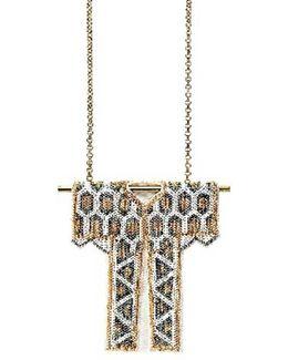 Bridal Kimono Pendant Necklace