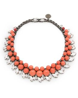 Colette Coral Necklace