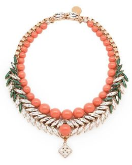 Bettie Coral Necklace