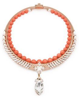 Michele Coral Necklace