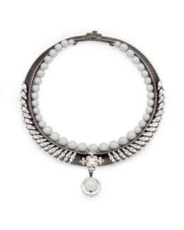 Michele Grey Necklace