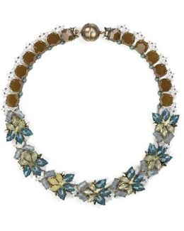 Multicolored Summer Place Choker Necklace 20