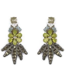 Summer Place Floral Earrings 24