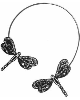 Black Libellule Ii Necklace