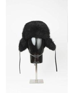 Haris Fur Collar - Black