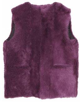 Dozzy Fur Vest - Purple