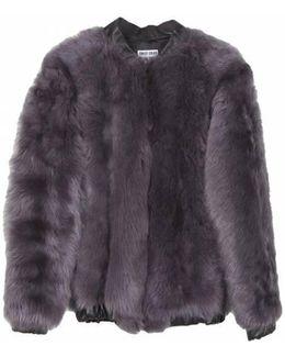 Alden Toscana Lamb Fur Jacket - Grey