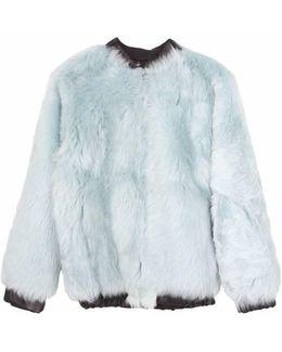 Alden Toscana Lamb Fur Jacket - Aqua