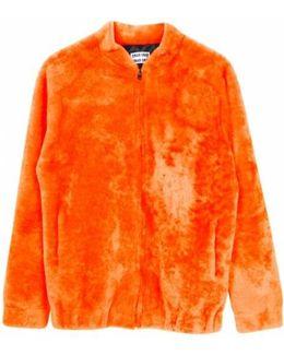 Alden Toscana Lamb Fur Jacket - Orange