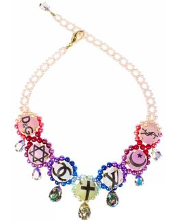 Holy Fashion Came Rainbow Necklace