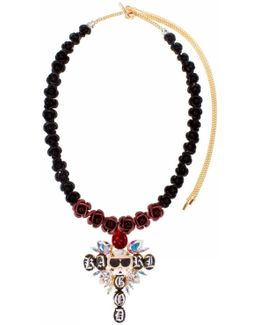 Karl Is God Rosary Necklace