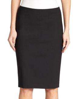Edition Wool-blend Pencil Skirt