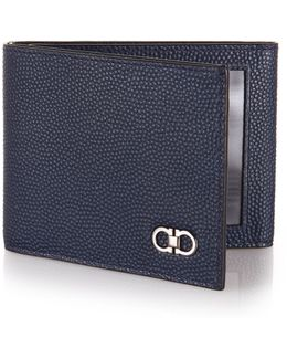 Ten-forty One Pebbled Leather Trifold Wallet